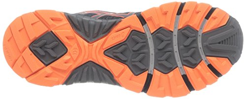 ASICS Gel-Fujitrabuco 3 G-TX - Zapatillas de deporte para hombre Negro (Black / Titanium / Orange 9097)