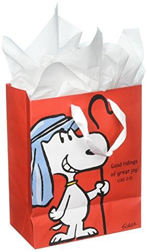 Peanuts Medium Specialty Gift Bag - Christmas - Good Tidings of Great Joy