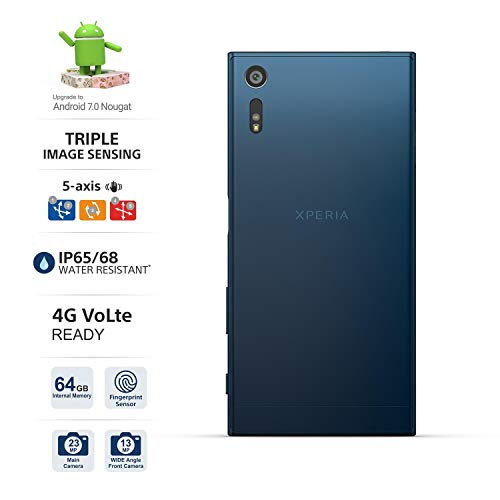 Sony Xperia XZ F8332 64GB Forest Blue, 5.2