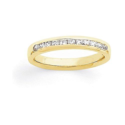 Diamond 14ky Mens Ring - 8
