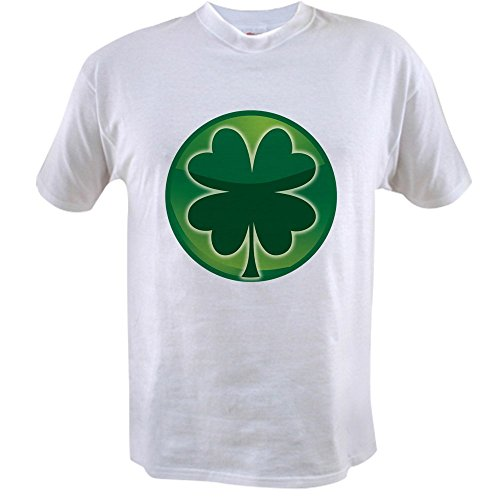 Royal Lion Value T-Shirt Shamrock Four Leaf Clover - (Ireland Value T-shirt)