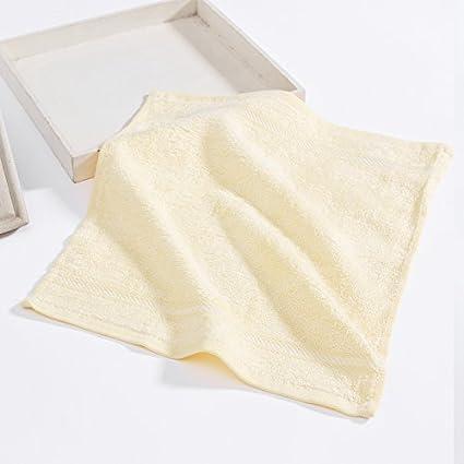 Bambú toalla pequeña bebé toalla suave toallita,luz amarilla