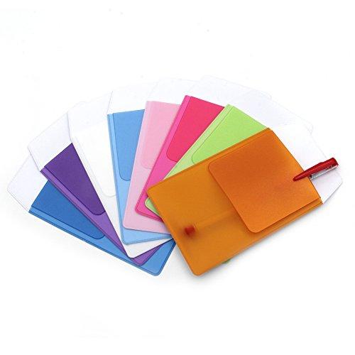 KLOUD City Assorted Colors Pocket Protector for Pen Leaks (8pcs different color) by KLOUD City (Image #1)