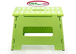 Stepsafe Non Slip Folding Step Stool for Kids and Adults with Handle- 9\