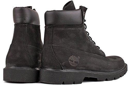 Black Basic Work Boot - 2