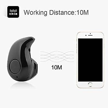 0e8c5261b12 a2zmobi Mini Wireless Kaju Style Bluetooth Headset: Amazon.in: Electronics
