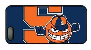 iPhone 5 Case,iPhone 5S Case,NCAA Syracuse Orange on Blue PC Hard Shell Black Edges Case for iPhone 5 5S