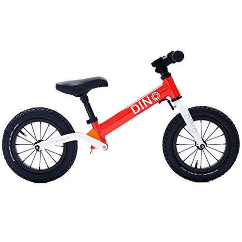Sport Balance Bike no Pedal Walking Bicycle with Steel Frame, Adjustable Handlebar and seat, 110lbs Capacity for Ages 2 to 6 Years Old-E