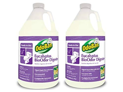 OdoBan Earth Choice Fogging Deodorizer, BioOdor Digester, 2 Pack