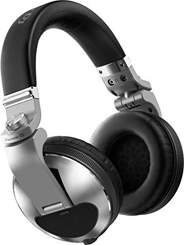 Pioneer HDJ-X10 Plata Circumaural Diadema Auricular – Auriculares (Circumaural, Diadema, Alámbrico, 5-40000 Hz, 1,2 m, Plata)