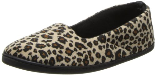 Dearfoams Plush Velour Closed-Back Women's Slipper - Padded Microfiber Slip-Ons with a Durable Outsole - 745