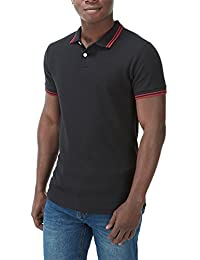 Charles Wilson Contrast Tipped Polo Shirt