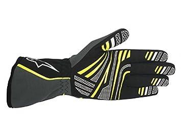 2712013-21-6 White//Black Size-6 Tech 1-K Karting Shoes Alpinestars