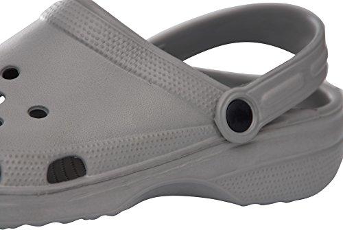 Sabots Perforés De Jardin Sunville Mens Chaussures Gris 9