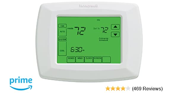 honeywell rth8500d 7 day touchscreen programmable thermostat c wire rh phatwalletforums com Honeywell RTH8500D User Manual Honeywell RTH8500D Review