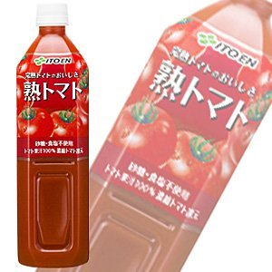 Taste ripe tomato 900gPETX12 this X2 box set of ITO EN ripe tomatoes by Ito En