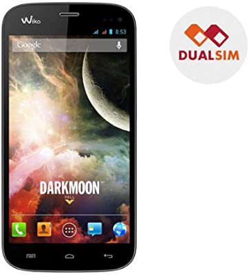 WIKO Darkmoon - negro - Smartphone dual sim + Tarjeta de memoria ...