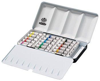 Schmincke Horadam Aquarell 5ml Paint Tube Metal Set, Set of 18 Colors - Pigment Schmincke