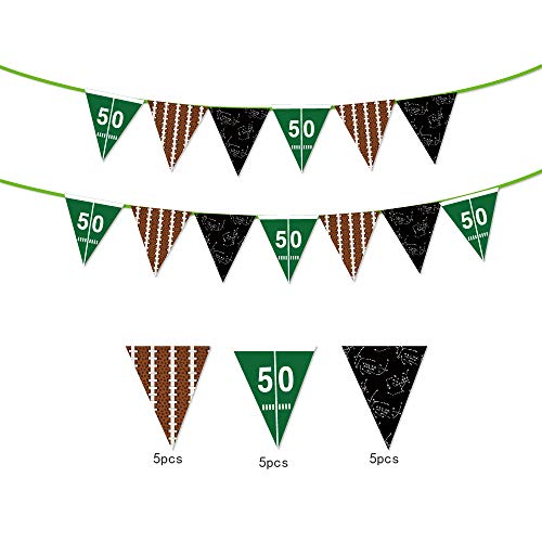 Sport Theme String Flags Banners decoration/American Football Flags,American Football Flags,Happy Birthday Party Pennant Banner for Olympics,Bar,Sports Clubs,Festival,Party Events Decorations -