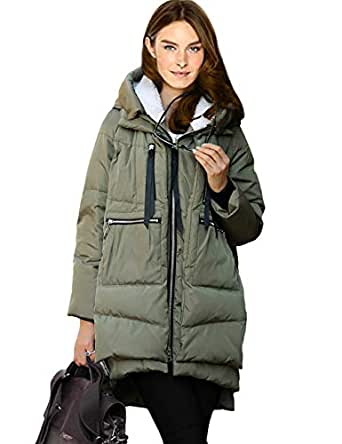 Amazon.com: Innifer Women's Winter Plus Size Thicken Down