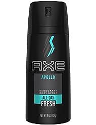 AXE Body Spray for Men, Apollo, 4 oz