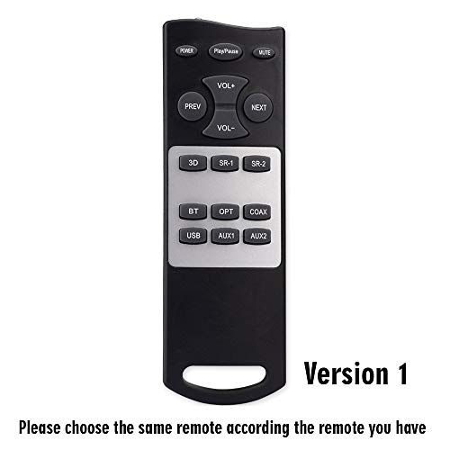 Image of Wohome Replacement Remote for soundbar S9920 and S9920 Pro (Version 1)