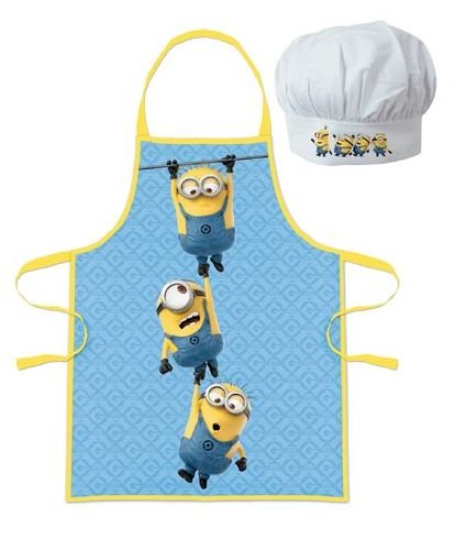 Despicable Me Minions Childrens Cooking Chefs Hat and Apron Set By BestTrend by Minions