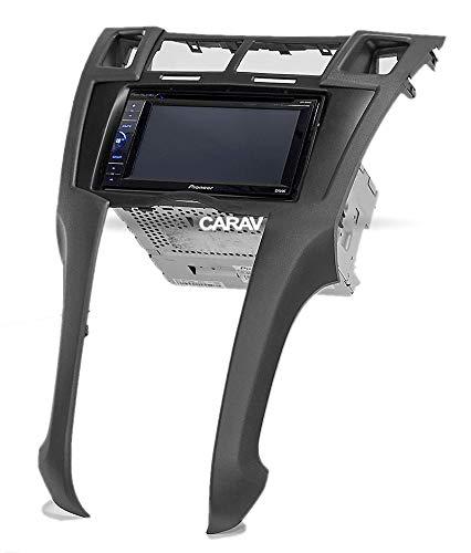Platz 2005-2010 with 17398mm//178100mm //178102mm 11-401 Double Din Car Radio Frame Fscia Dash Kit Fit for Toyota Yaris,Vitz
