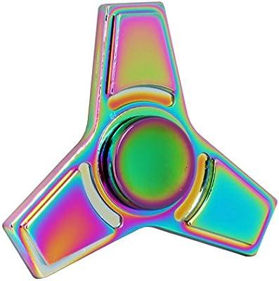 Spinner de mano Fidget Hand Spinner QcoQce K1 Arco iris colorido ...