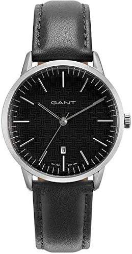 Anerkennung Mottle Reaktor  Gant Mens Analogue Quartz Watch with Leather Strap 7630043930946:  Amazon.co.uk: Watches