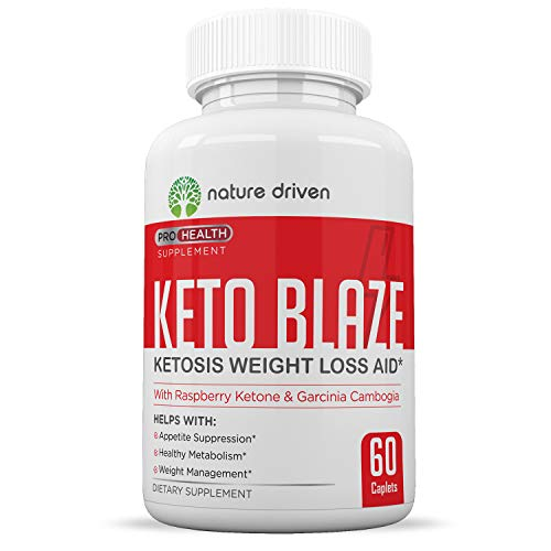 Keto Weight Loss Pills - Supercharge Your Diet - Control Your Appetite - Boost Your Metabolism - One Month Supply - Nature Driven