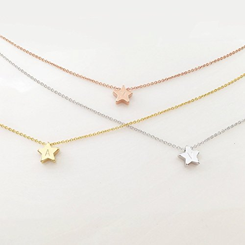 Date Star Necklace - 2