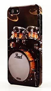 Pearl Drum Set Rock N Roll Dimensional Case Fits iPhone 5 or iPhone 5s