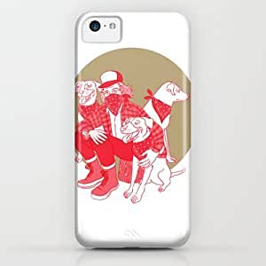 Society6 - Lumberjack And Dogs. iPhone & iPod Case by Vannia
