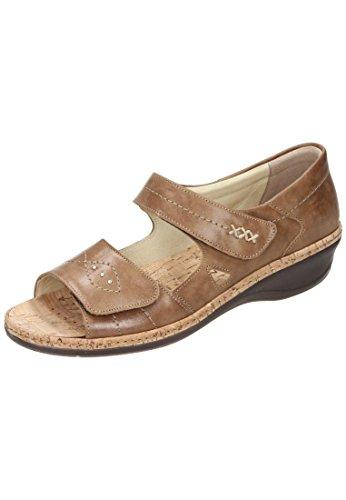 Comfortabel Mujeres Sandal Mid-calf 710872-21 Mittelbr.
