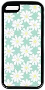 White Daisy Flower Theme Iphone 5C Case