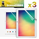 TabSuit Dragon Touch K10 Screen Protector Ultra-Clear of High Definition (HD)-3 Pack for Dragon Touch K10 10.1' Tablet