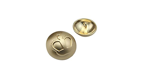British metal dorado botón de perchero de pared de chaqueta ...