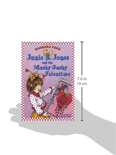 Large Product Image of Junie B. Jones and the Mushy Gushy Valentime (Junie B. Jones #14)