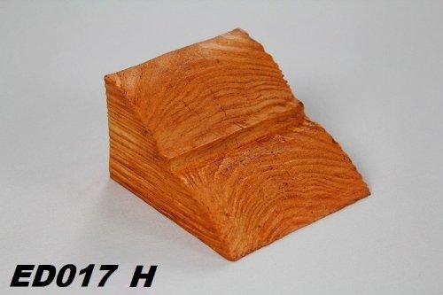 1 Konsole Holzimitat Innen 60x90mm, ED017 H Serie Modern Deco Wood
