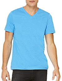 + Canvas Unisex Jersey Short-Sleeve V-Neck T-Shirt