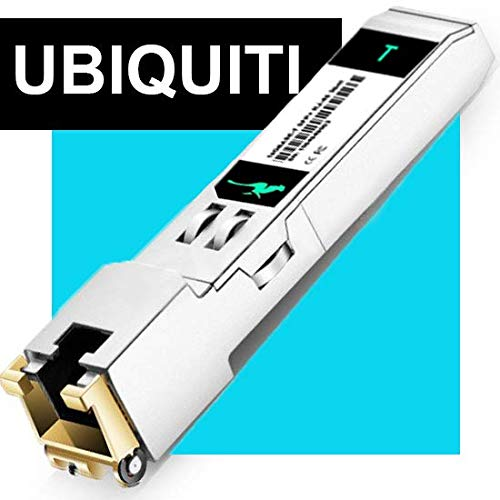 (10G Transceiver SFP 10G 10GBase T Copper SFP to RJ45 for Ubiquiti Transceiver Switch Module Compatible)