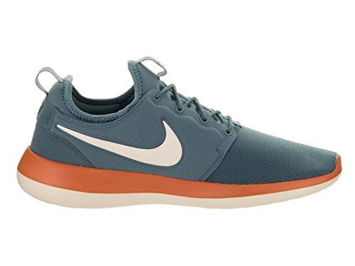 Nike Mens Roshe Due Jade Ghiacciate / Lt Orewood Brn Scarpa Da Corsa 12 Uomini Us