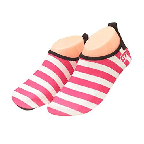 Chaussures Rose Plage Douce Sock De Indoor Rouge Sport D'eau Enfants qZv8xd4q
