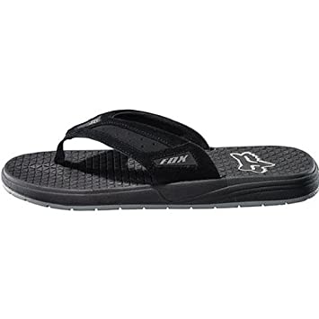 ffc6a3beb817 Fox Racing Browser Thong Men s Sandal Sportswear Footwear w Free B F Heart  Sticker Bundle - Black Size 11