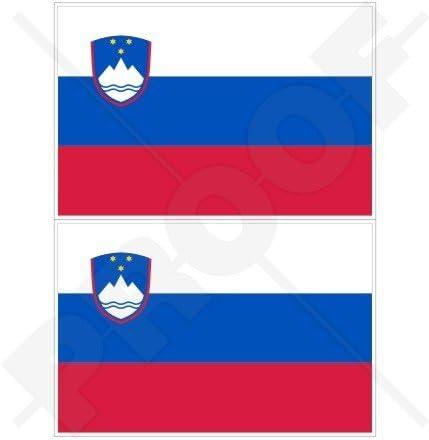 SLOVENIA LAMINATED CAR SELF ADHESIVE VINYL DECAL STICKER NEW
