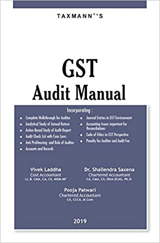 GST Audit Manual 2019 taxmann