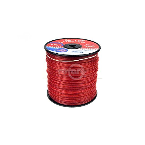 (Rotary Trimmer Line .095 3# Spool Red Commercia)
