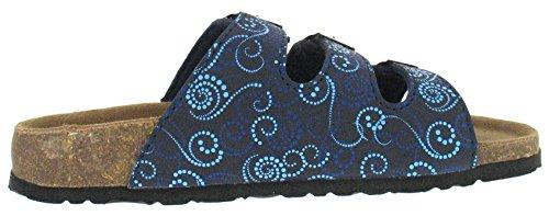 Femme Bleu Mules Combi 138 pour 274 Clogs Softwaves Multi Marine 897 Bleu amp; pgYa40wq