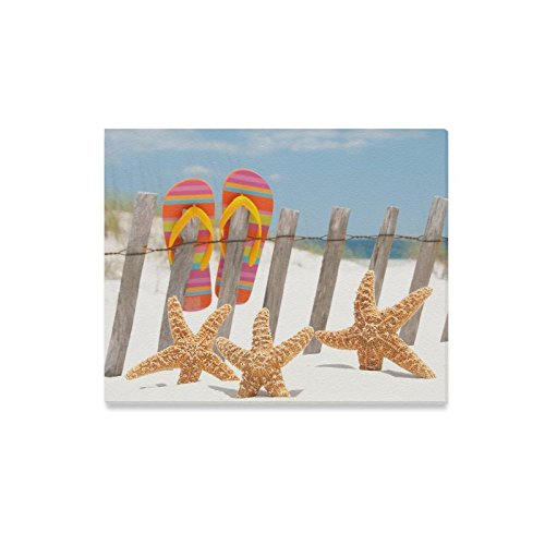 Beach Flip-Flops Starfish